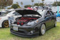 Toyota-Matrix 2006 auf Anzeige Lizenzfreies Stockfoto