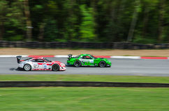 Toyota 86 and Mazda RX-7 Royalty Free Stock Photo