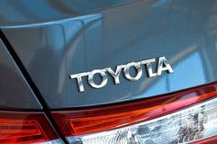 Toyota-metaalsymbool Stock Foto