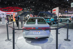 Toyota Mirai Back To The Future edition Royalty Free Stock Photos