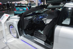 Toyota Mirai Back To The Future edition Royalty Free Stock Photo