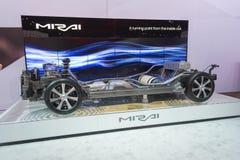 Toyota Mirai cutway Lizenzfreie Stockbilder