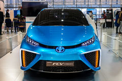 Toyota Mirai fuelcell car Stock Photography