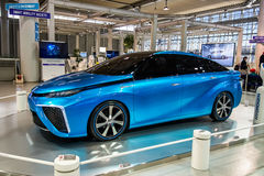 Toyota Mirai fuelcellbil Arkivbilder