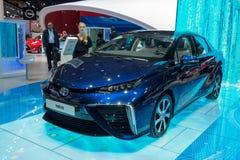 Toyota Mirai - world premiere. Stock Photos