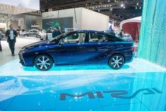 Toyota Mirai - world premiere. Stock Photo