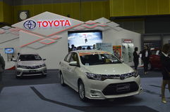 Toyota Motors shop of FAST Auto Show Thailand 2016 Royalty Free Stock Photography