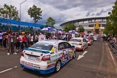 Toyota Motorsport 2012 4 redondos Imagenes de archivo