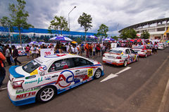 Toyota Motorsport 2012 4 redondos Foto de archivo
