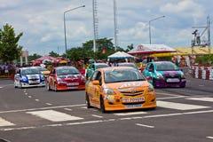 Toyota Motorsport 2012 4 redondos Fotografía de archivo libre de regalías