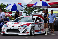 Toyota Motorsport 2012 round 4 Royalty Free Stock Images