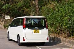Toyota Noah 2014 back Stock Photography