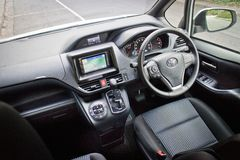 Toyota Noah 2014 drive room Royalty Free Stock Image