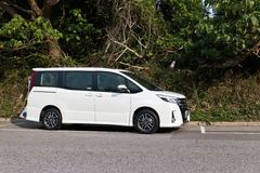Toyota Noah 2014 side Stock Images
