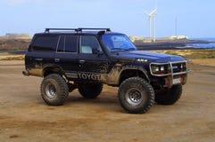 Toyota noire 4x4 Bigfoot Photo libre de droits