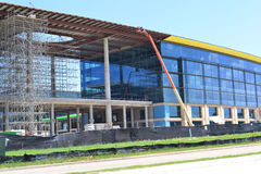 Toyota North America New Headquarters. Toyota North America's new headquarters under construction in Plano, Texas Stock Photo