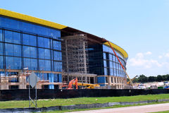 Toyota North America. 's new headquarters that are under construction in Plano, Texas Stock Photos