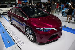 TOYOTA NS4 Hybrid electric concept car Royalty Free Stock Photos