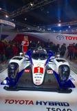 Toyota ono pokazuje przy Auto expo 2016, Noida, India obrazy stock