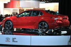 Toyota op Vertoning bij Noordamerikaanse Internationale Auto van 2017 toont Stock Afbeeldingen