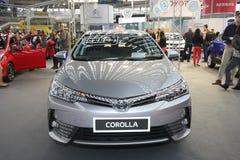 Toyota på den Belgrade Car Show arkivbilder