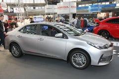 Toyota på den Belgrade Car Show arkivbild