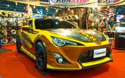 Toyota 86 på expo för Thailand Internationalmotor Arkivbilder