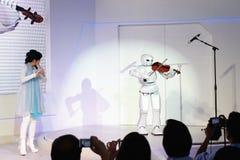 Toyota Partner il robot, fiera di BOI Tailandia 2011 Immagini Stock Libere da Diritti