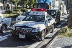 Toyota-patrouillepolitiewagen Chiyoda Tokyo Royalty-vrije Stock Foto's