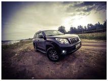 Toyota Prado Fotografia Stock Libera da Diritti