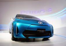 Toyota Prius-c concept, BOI Fair 2011 Thailand Stock Images