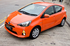 Toyota Prius C Hybrid 2012 Royalty Free Stock Images