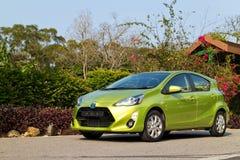 Toyota Prius C 2015 Test Drive Stock Photography