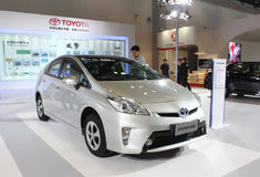 Toyota prius Royalty Free Stock Photos