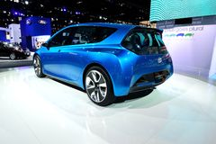 Toyota Prius Concept Car. At Auto show Royalty Free Stock Images