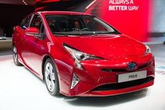 Toyota Prius Hybrid Royalty Free Stock Photos