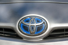 Toyota Prius logo Obraz Royalty Free