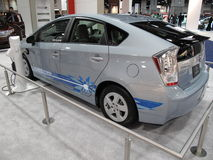 Toyota Prius Plug In Royalty Free Stock Photography