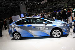 Toyota Prius Plug-in Hybrid Royalty Free Stock Images