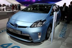 Toyota Prius Plug-in Hybrid Stock Photos
