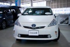 2017 Toyota Prius toyota Electro samochód Japonia Zdjęcie Stock