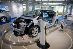 2017 Toyota Prius toyota Electro samochód Japonia Fotografia Stock