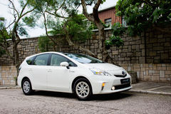 Toyota Prius V Hybrid 2012 Royalty Free Stock Images
