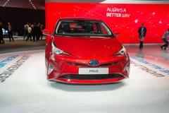 Toyota Prius - world premiere. Royalty Free Stock Photos