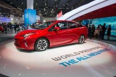 Toyota Prius - world premiere. Stock Image