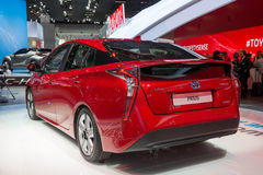 Toyota Prius - world premiere. Royalty Free Stock Images