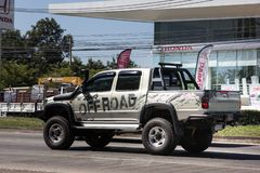 Toyota privado Hilux Tiger Pickup Truck imagenes de archivo