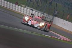 Toyota R1 LMP1 på Silverstone 6 timmar Royaltyfri Bild