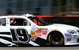 Toyota racing stock photo