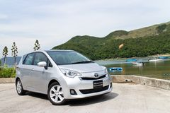 Toyota Ractis Japan Version 2014 Royalty Free Stock Photography